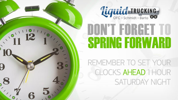 Daylight Savings 2015 - Liquid Trucking